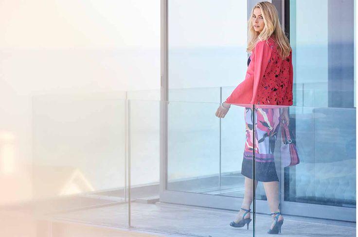 Lace Back Cardigan #kaleidoscope #trend