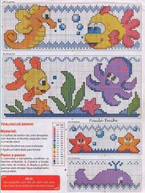 Photo of Crafts: Designs for embroidery with sea …
