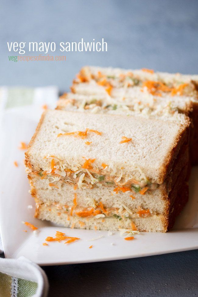veg mayonnaise sandwich recipe with step by step photos - easy to prepare veg mayo sandwich. there are many ways mayo sandwiches are made. the recipe is easily adaptable where you can add the veggies