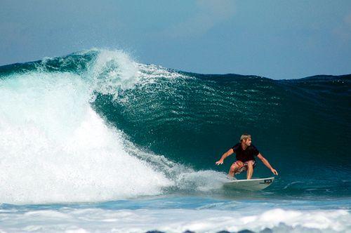 Surfer in Ujung Genteng,West Java