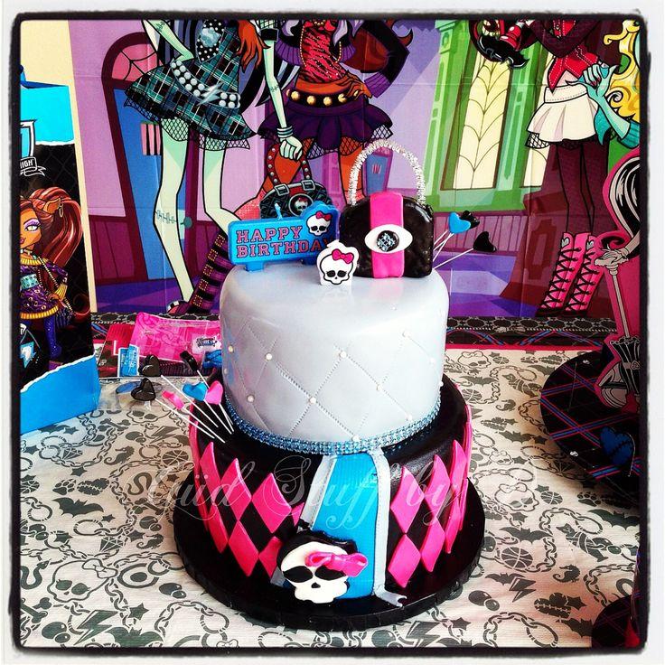 Monster High Birthday Cake Photos