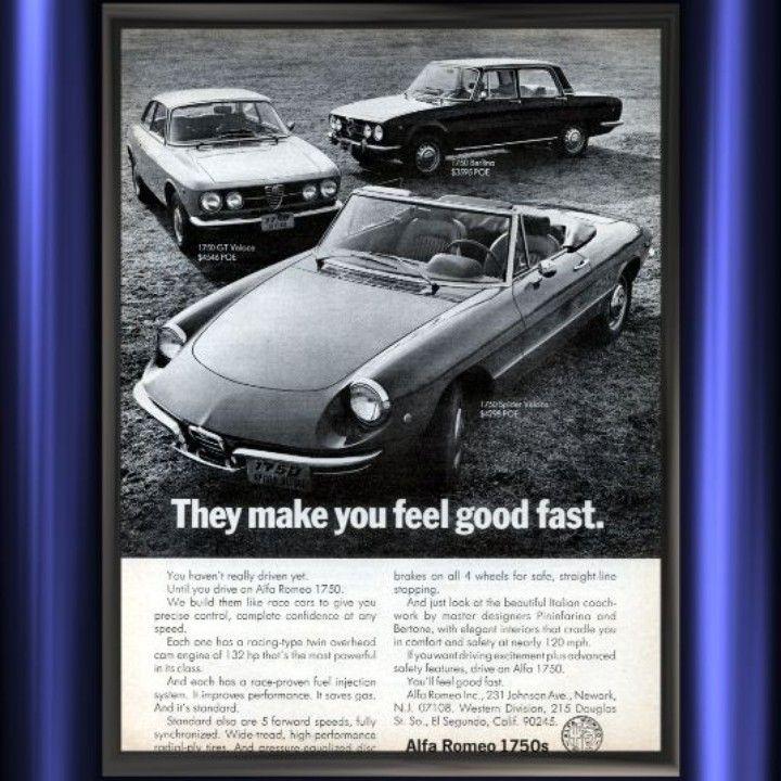 24 best Alfa Romeo Vintage Ads images on Pinterest | Vintage ads ...