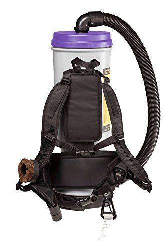 ProTeam Backpack Vacuums Super CoachVac HEPA Commercial Backpack Vacuum Cleaner with Versatile Tool Kit & Telescoping Wand, 10 Quart – Corded //Price: $400.83 & FREE Shipping //     #hashtag4