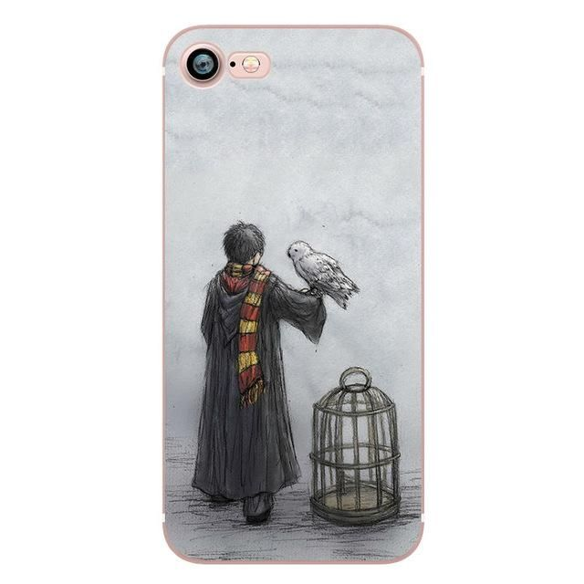 Vintage Style harry potter Marauder's Map Hogwarts Cell Phone case for Apple iPhone – Blue / For iphone 5 5S SE
