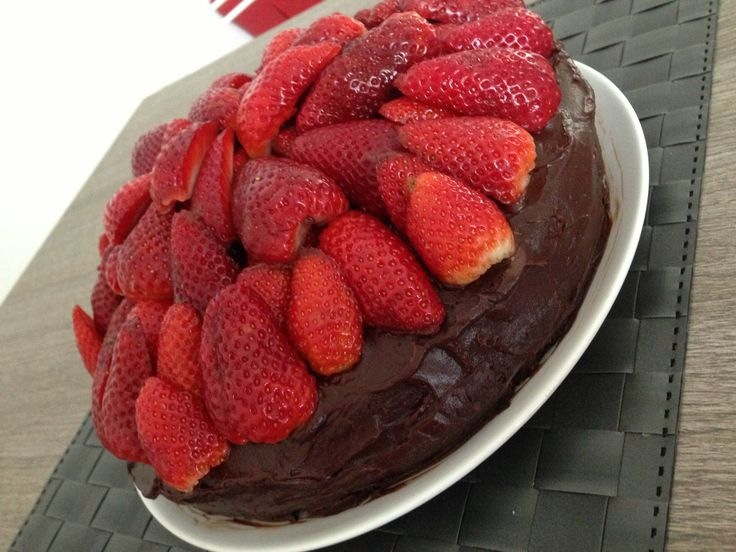 Chocolate + strawberries = Heaven