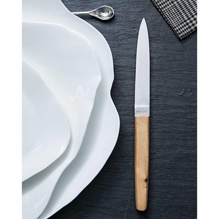 Table navette genevrier - Coutellerie Ceccaldi