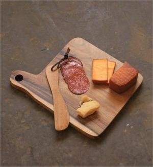 Farmhouse Cheese Board with Wooden Knife