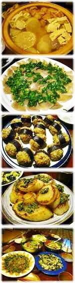 自然菜食と田舎暮らしの古民家宿 空音遊 (くうねるあそぶ) 夕食写真