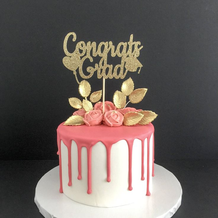 Congrats Cake Topper Uk