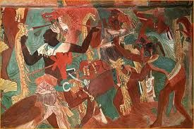 MAYAN FRESCOS / BONAMPAK Some of the greatest surviving treasures of pre-Columbian times.