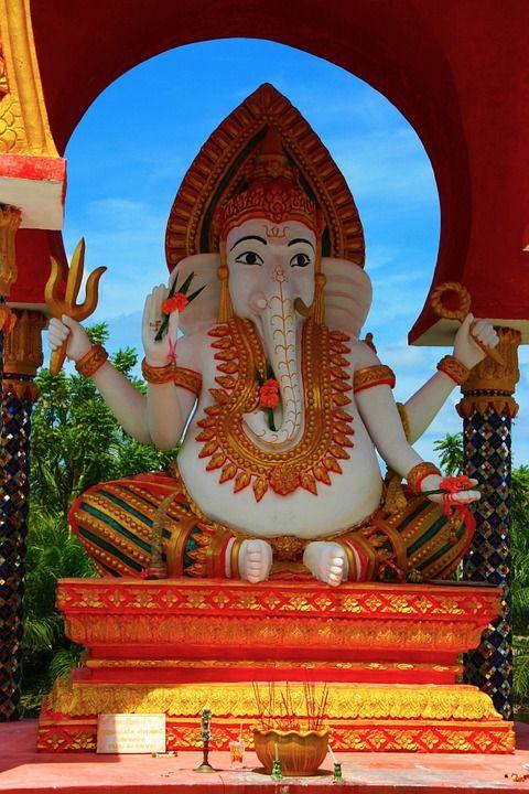 Temple hindou dédié au Dieu Ganeh