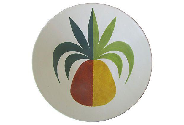 Midcentury Decorative Pineapple Bowl on OneKingsLane.com