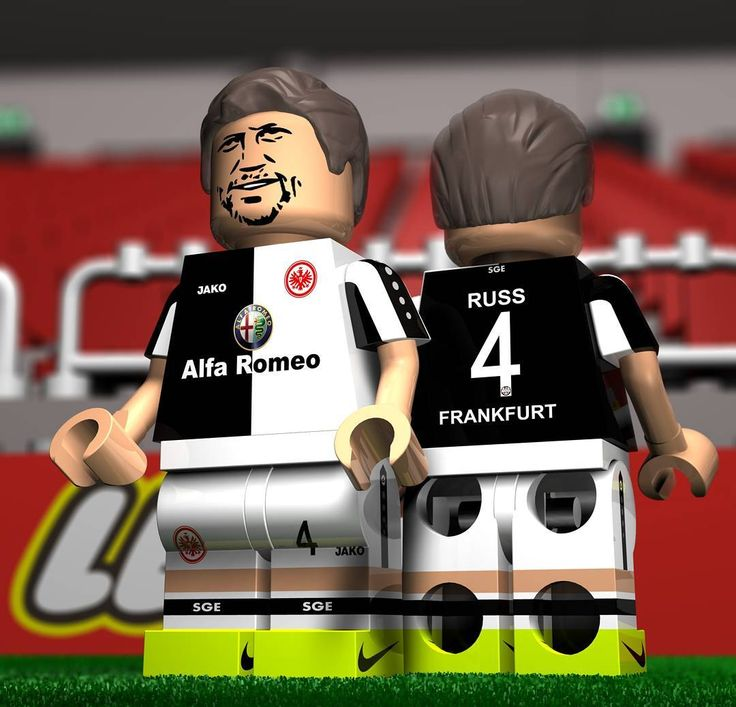 """Auf jetzt! Eintracht created with Cinema4d #Lego #football #fussball #sge #frankfurt #eintracht #russ #aufjetzt #soccer #3d #bundesliga #brick #mini #c4d #cinema4d #cool #fun #awesome #love #instagood #bestoftheday #nofilter #photooftheday #pictureoftheday #bestoftheday by krimages2016"