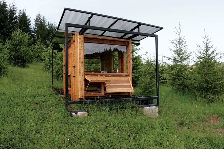 Erin Moore of FLOAT Architectural Research and Design, based in Tucson, Arizona, designed a 70-square-foot writer's retreat in Wren, Oregon, for her mother, Kathleen Dean Moore, a nature writer and professor of philosophy at nearby Oregon State University. The elder Moore wanted a small studio in which to work and observe the delicate wetland ecosystem on the banks of the Marys River. Enlisting her daughter's design expertise, her professor husband's carpentry savoir faire, the aid of…