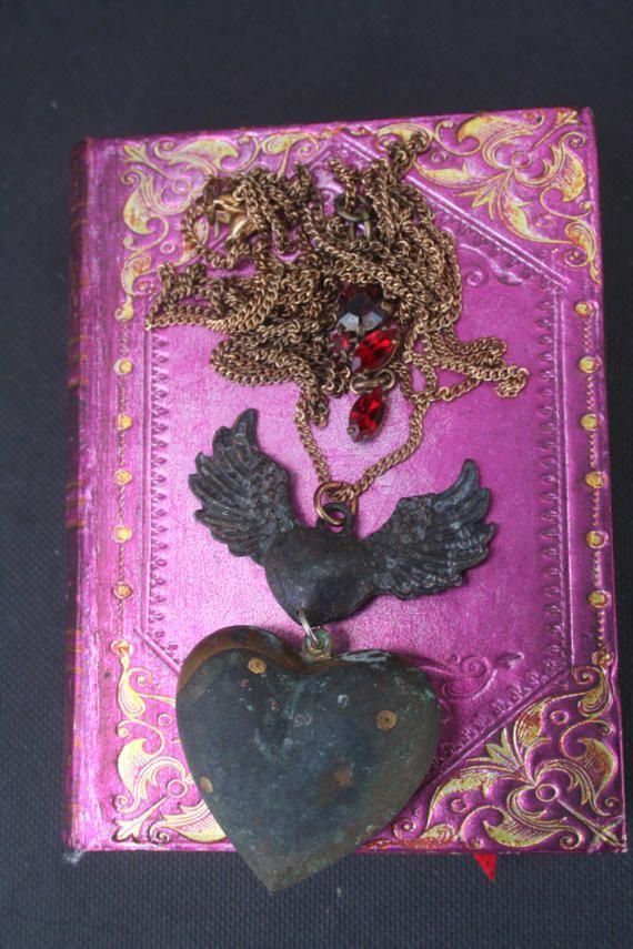 Ex Voto necklace Ex Voto Milagro necklace Statement
