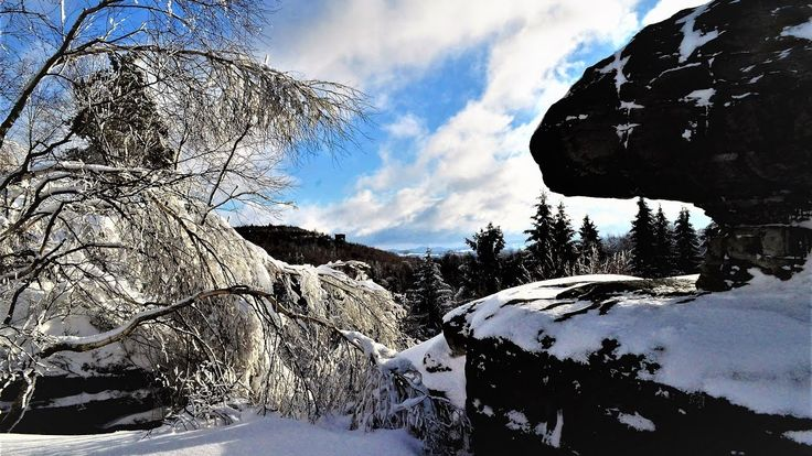 """Tiské stěny, National Forest in Tisá, Czech Republic from Ivanka's little treasures  Hello everyone...  The Tyssaer Wände (Czech: Tiské stěny, literally """"Tyssa Walls"""") are a well-known group of rocks in the western Bohemian Switzerland not far from its topographical boundary with the Ore Mountains. The region, with its rock pillars up to 30 m high, is one of the major tourist attractions of Bohemian Switzerland. The Tyssaer Wände and their neighboring Bürschlitzwände (Bürschlické stěny) are…"""