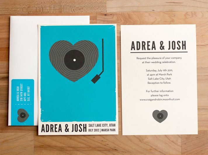36 best Musical Wedding Invitations images on Pinterest Music
