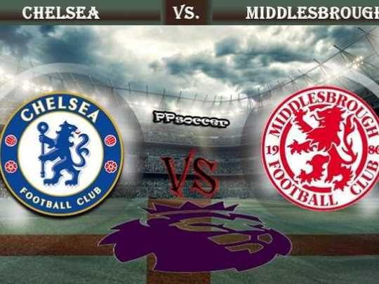 Chelsea vs Middlesbrough Prediction 08.05.2017