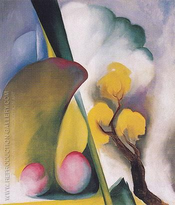 Spring c1922 By Georgia O'Keeffe - Oil Paintings & Art Reproductions - Reproduction Gallery