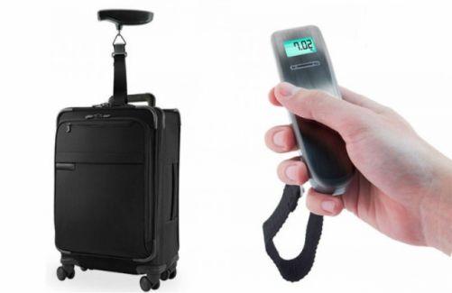 ¿Alguna vez has tenido problemas a la hora de facturar el equipaje?. Pues te traemos la balanza digital para equipajes, una solución muy práctica y fácil de manejar. Por un buen precio, podrás evitar este tipo de incidentes. #viajes   #tecnología   #descuento