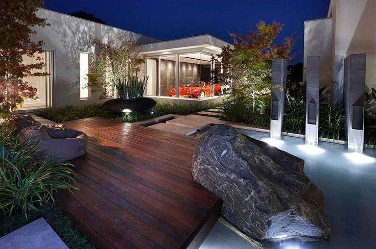 Современный ландшафтный дизайн: Идеи от Rolling Stone Landscapes