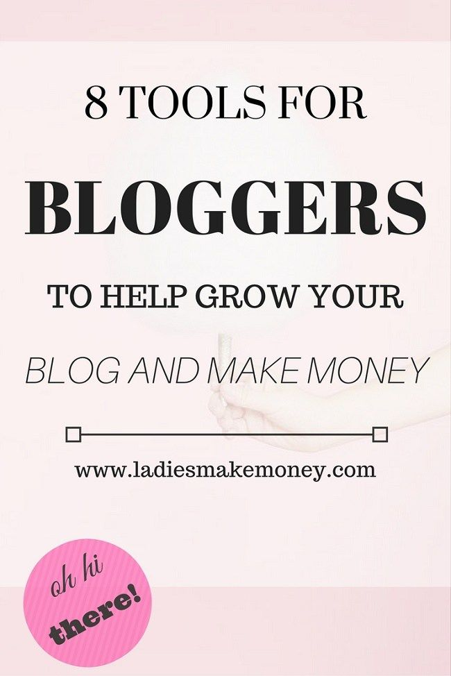 8 Tools for bloggers to use to make money online and monetize their blog and grow a business. Think teachable, affiliate marketing tools and more.