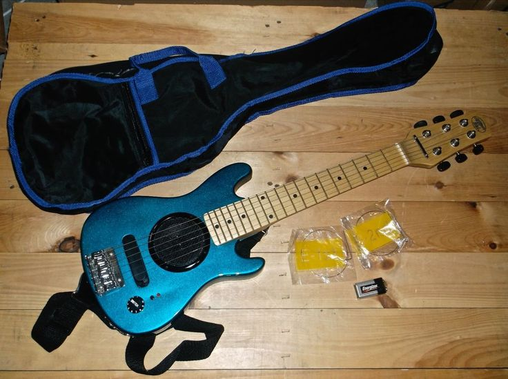 AMERICAN IDOL Electric 6 String Guitar With Built In ...