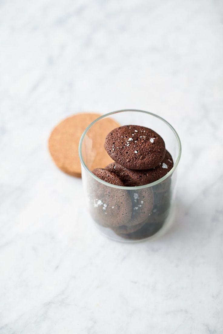 Chocolate Rye bread Cookies - Jamie oliver. Gluten free #JamiesGlutenfreerecipes