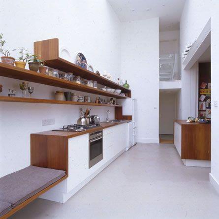 25 beste idee n over lange smalle keuken op pinterest smal kookeiland - Amenager zijn caravan ...