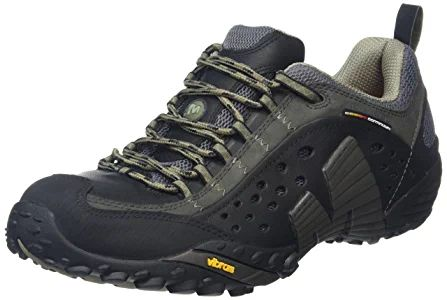the best attitude b51fb d5091 Merrell Intercept Zapatillas de senderismo, Hombre, Negro (Smooth Black), 41