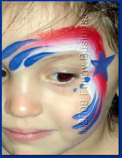 Th Of July Face Painting Templates