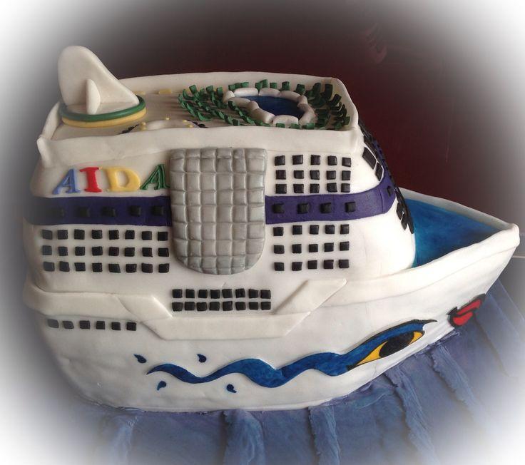 AIDA Kreuzfahrtschiff Torte