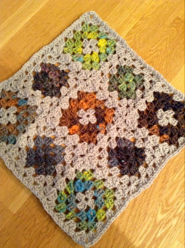 Learn How To Join Granny Squares in: Joining Crochet Motifs on Craftsy