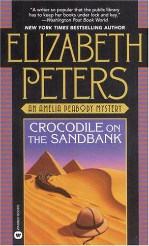 The Amelia Peabody mystery series by Elizabeth Peters. Crocodile on the Sandbank is the first book.