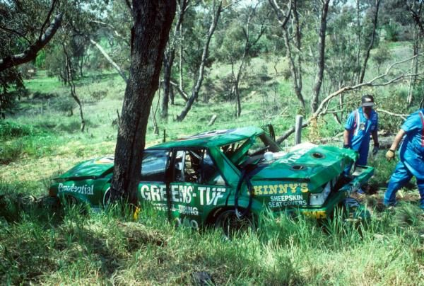 Greens Tuf Bathurst Hardie Heroes Crash
