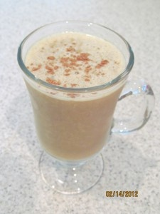 Banana Latte Smoothie! This is amazing! Great with Reliv Classic!