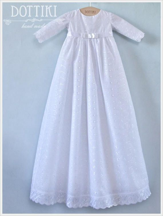 Check out this item in my Etsy shop https://www.etsy.com/listing/584658009/baby-girl-baptism-gown-in-white-with