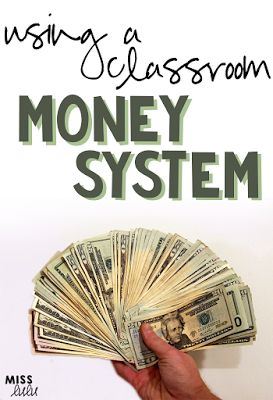 Tips and tricks for using a classroom money system for positive behavior support.