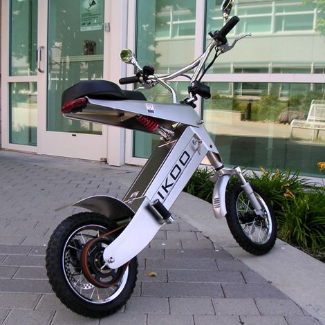 Ikoo Electric Scooter | Motorcycle | Car Cool #http://bloggabout.com