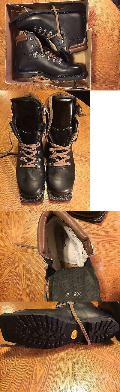 Men 16061: Vintage Men S Ski Boots Size 12 Black New -> BUY IT NOW ONLY: $60 on eBay!