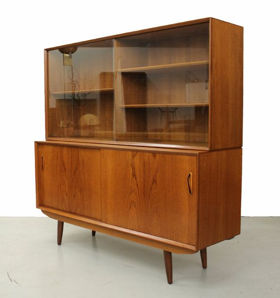 This Is A Near Perfect Danish Teak Credenza With Hutch By Ivan Gern For Mobelfabrik Gorgeous Piece Of Functional Furniture