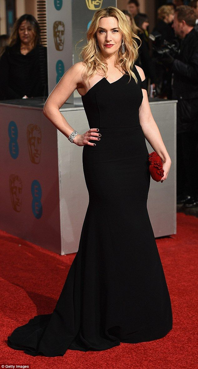 Kate Winslet, 40, won the 'best supporting actress' award for her role in Steve Jobs. She credits her success on eating lots of chicken and doing online exercise videos at home