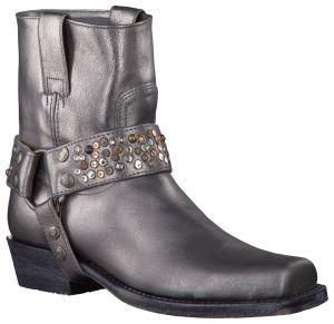 Like!! Zilveren Sendra enkellaarzen 9395 online kopen bij Omoda Schoenen