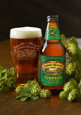 Sierra Nevada: Torpedo American IPA (7.2% ABV) Pretty Hoppy. I enjoyed it very much.