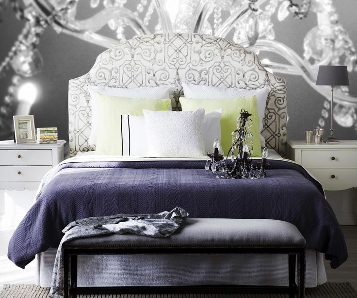 Any bedroom can look fabulous when you give it the attention it deserves: think indulgent detail and layers of loveliness. We've got bedroom ideas to inspire. #classy #bedroom #designs #interiors