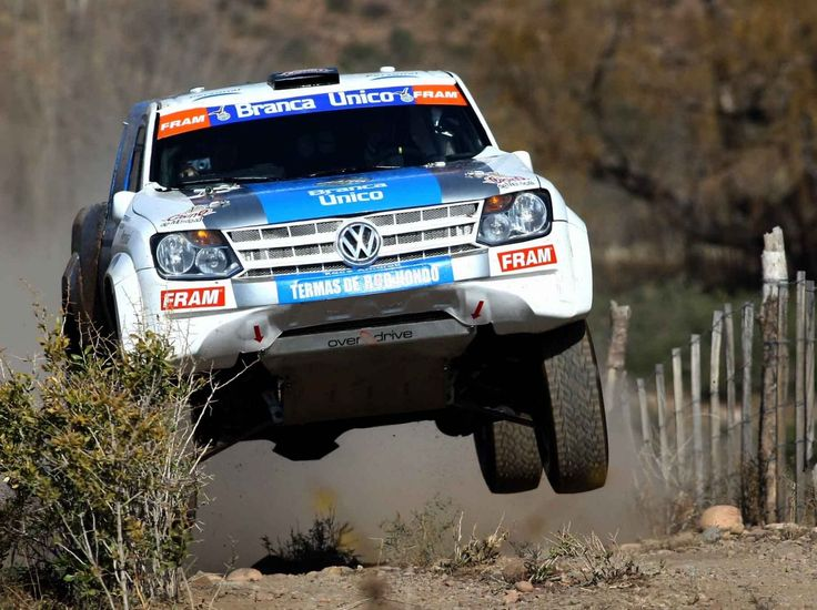 VW Amarok Rally Car