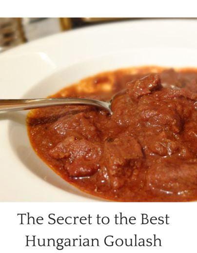 Paprika Souvenirs Budapest Easy Hungarian Goulash recipe