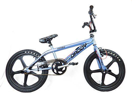 "Rooster Big Daddy 20"" Wheel Freestyler SKYWAY Mag BMX Bike Grey Black--162.36"
