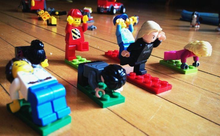 Lego yoga