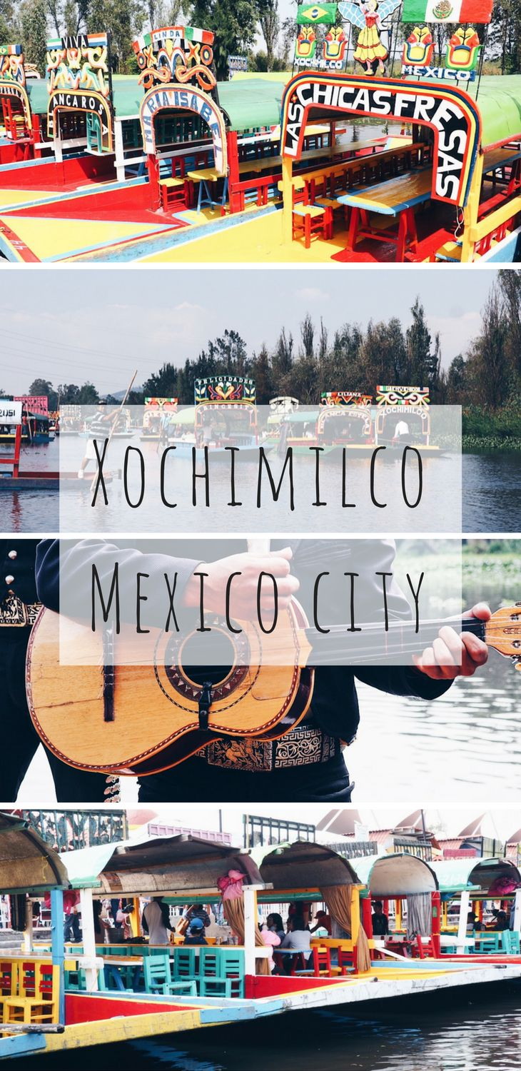 Best things to do in Mexico City: spend a day on a trajinera at Xochimilco! This unique tourist attraction in the Mexico City suburbs is a popular place to celebrate birthdays in Mexico. Click to see more.  Mexico travel | Latin America | Unique tourist attractions | Mexican culture